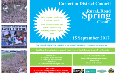 Carterton District Council Rural Road Spring Clean 2017