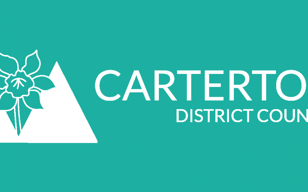 Carterton District Council Logo 2016 Reversed Teal
