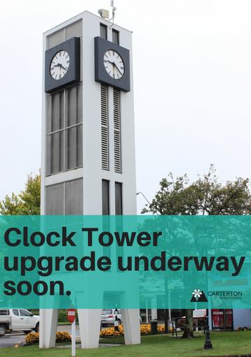 Clock Tower Upgrade Underway Soon.