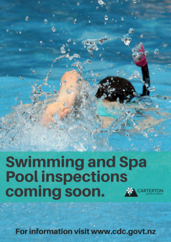Swimming And Spa Pool Inspections Advert