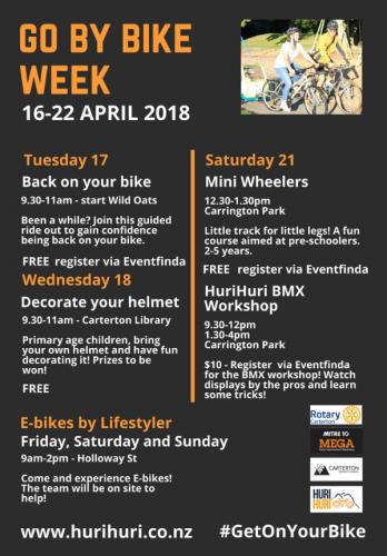 Go By Bikeweek Programme Image