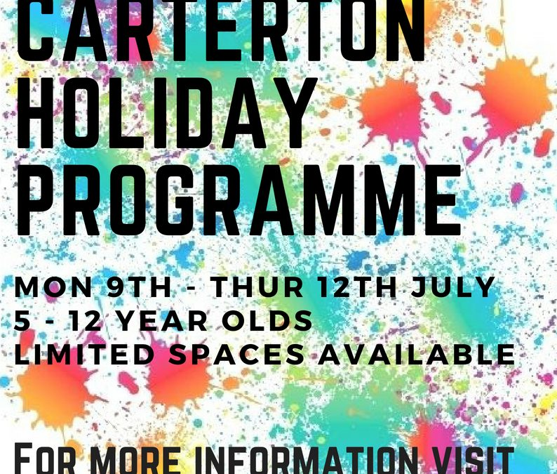 July Holiday Programme