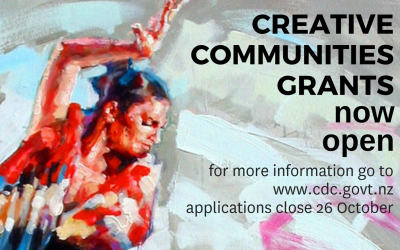 Creative Communities Scheme Now Open