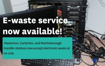 E-waste launches across Wairarapa