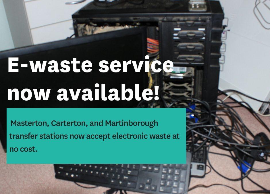 E-waste launches across Wairarapa