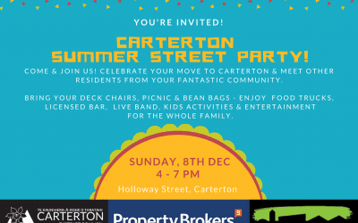Carterton Summer Street Party – Sunday 8 December, 4pm-7pm