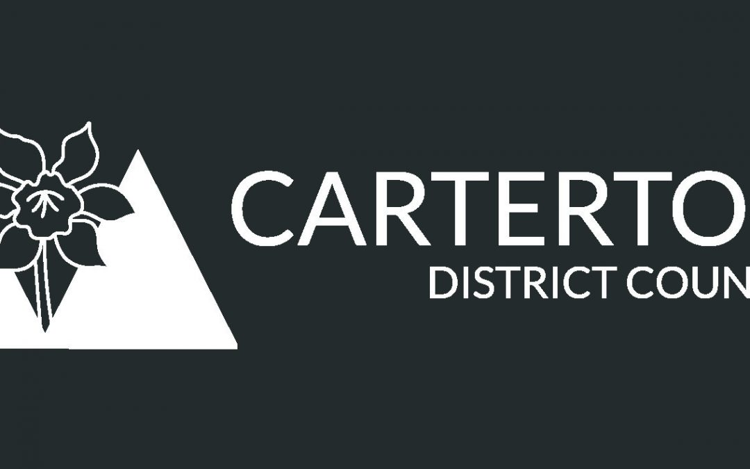 Carterton District Council Logo 2016 Reversed Grey