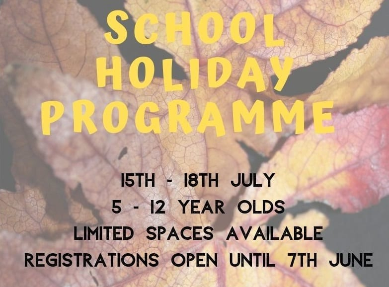 July School Holiday Programme