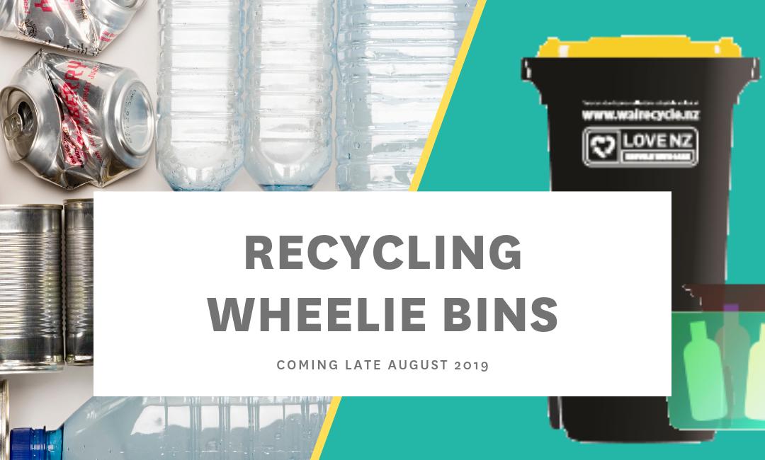 Recycling wheelie bins – coming soon!