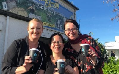 Carterton first in Wairarapa to launch IdealCup CupCycling™