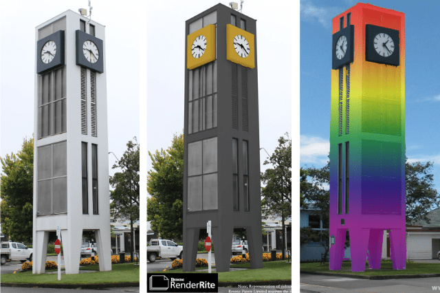 The Clock Tower colour vote has arrived!
