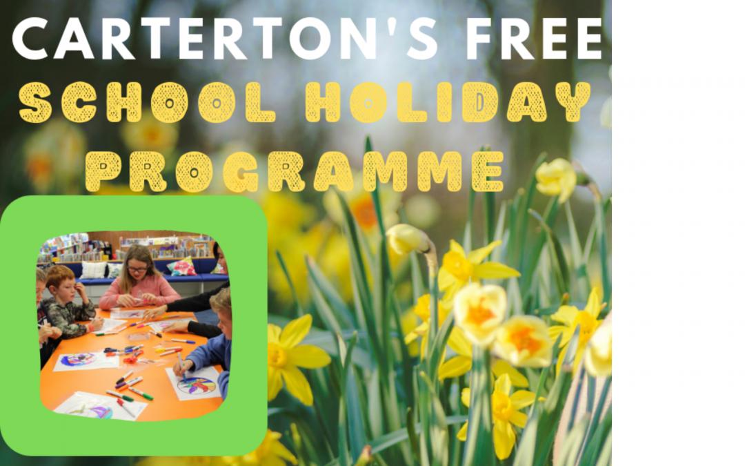 September / October School Holiday Programme
