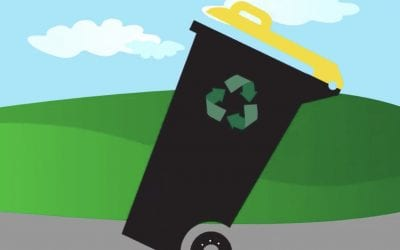 Recycling wheelie bin numbering error