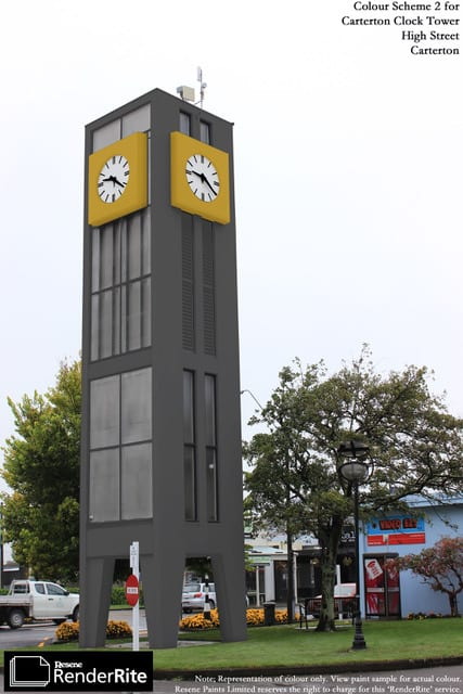 Clock tower update March 2020