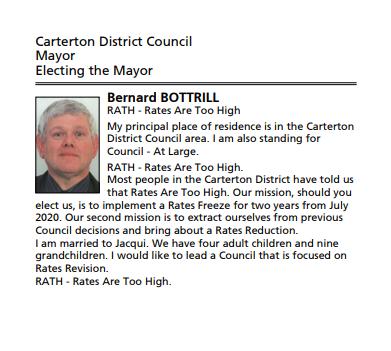 Bottrill Mayor