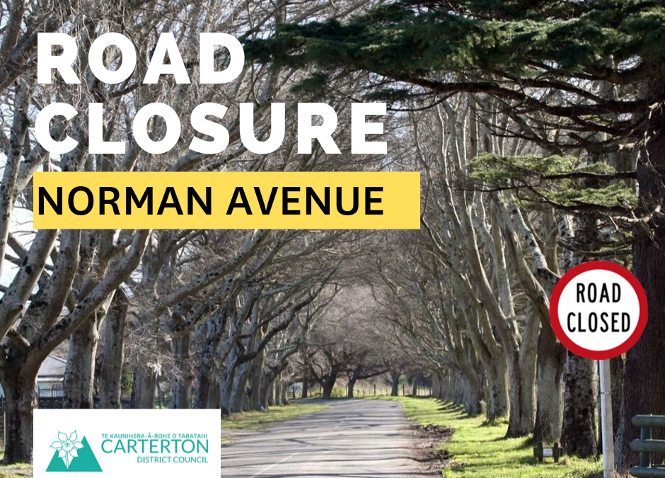 Temporary Closure of Norman Avenue