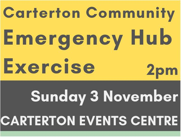Carterton Community Emergency Hub Exercise