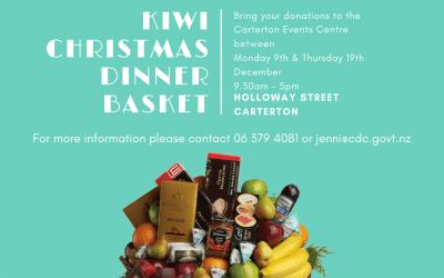 Kiwi Christmas Dinner Basket
