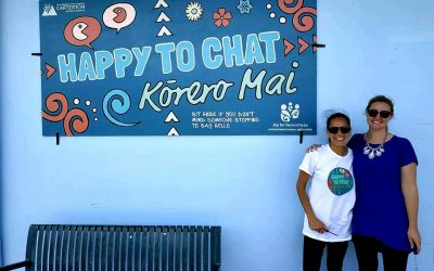 Carterton's new Happy to Chat bench
