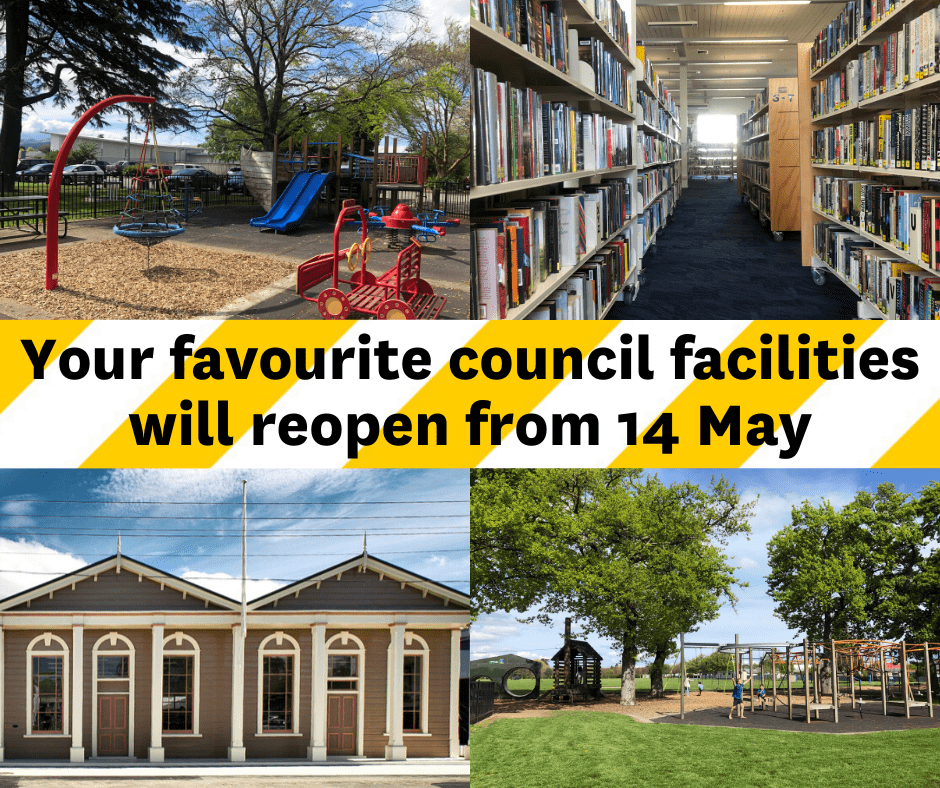 Your Favourite Council Facilities Will Reopen From 14 May