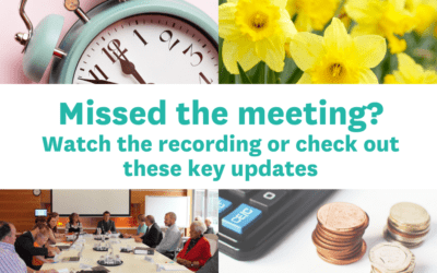 Ordinary Council Meeting – Annual Plan and Daffodil Festival updates