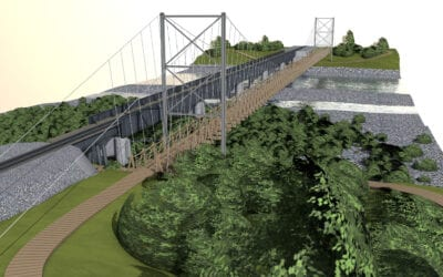 $1M funding granted for construction of the Tauherenikau suspension bridge