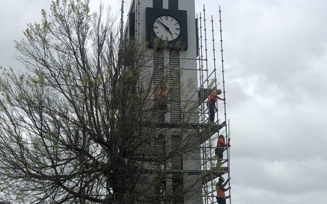 Clock tower update 25 September 2020