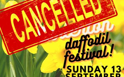Daffodil Festival 2020 cancelled