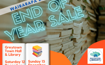 Wairarapa Libraries' End of Year Book Sale