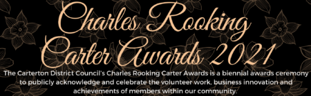 Charles Rooking Carter Awards Webheader