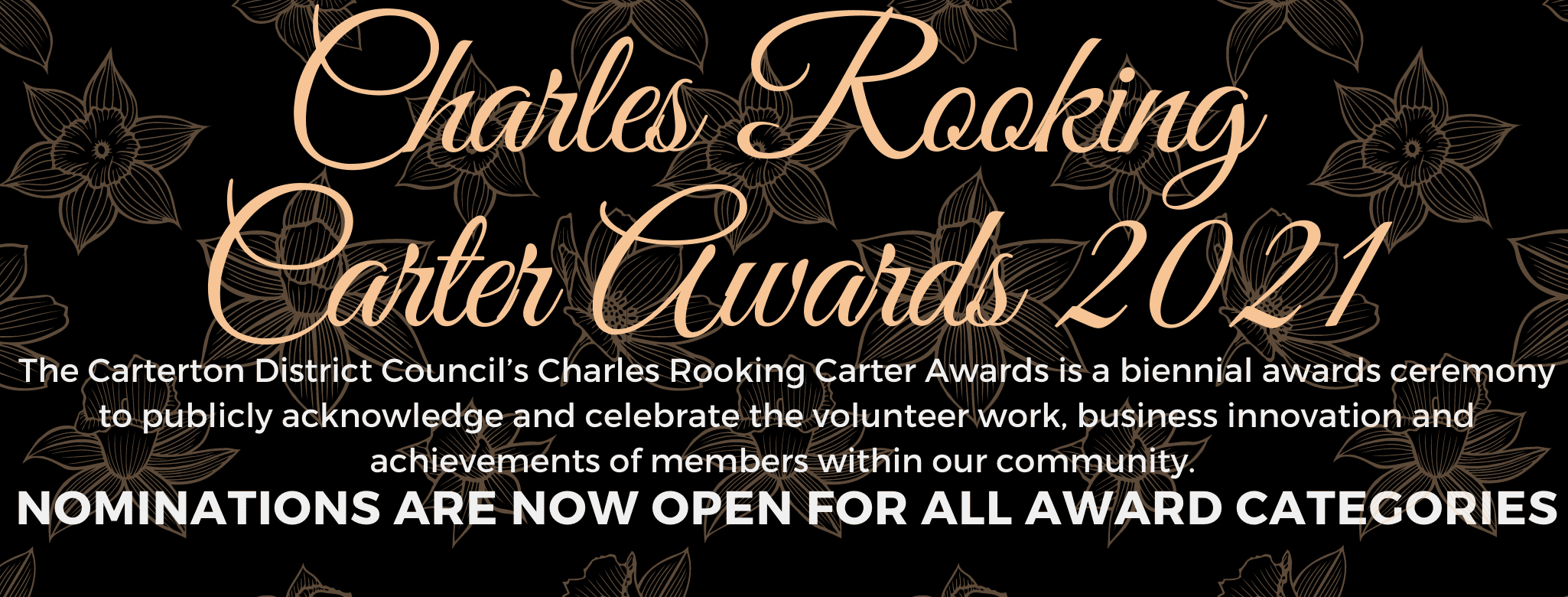 Charles Rooking Carter Awards Webheader
