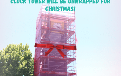 Clock Tower will be Unwrapped for Christmas!