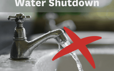 Planned water shutdown