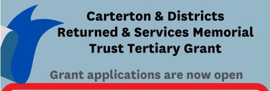 Returned & Services Memorial Trust tertiary grant applications open