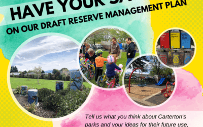 Have Your Say – Draft Reserve Management Plan