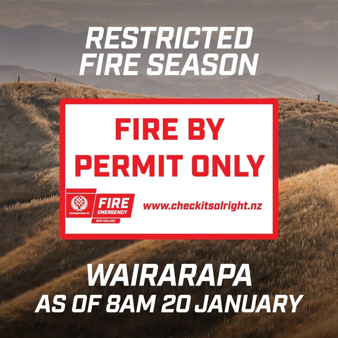 Restricted Fire Season