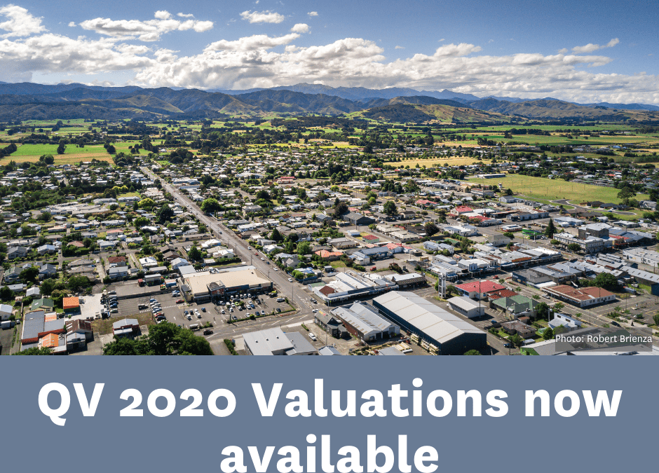 QV has released its 2020 rating valuations on behalf of the three Wairarapa Councils.