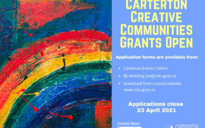 Creative Communities Grants – NOW OPEN