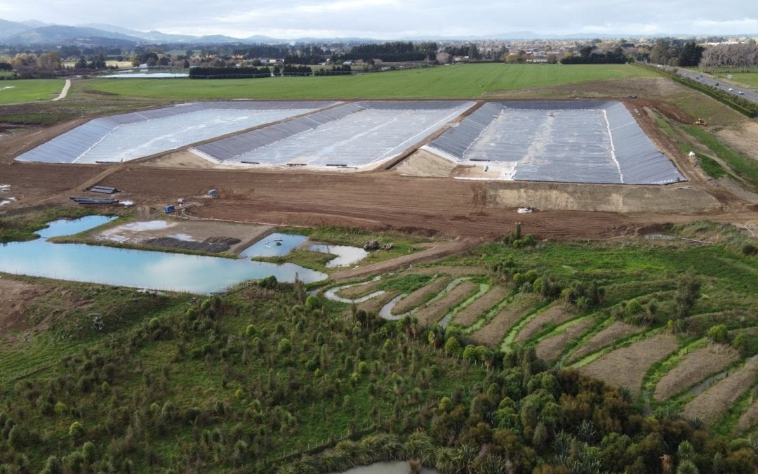 Update on wastewater ponds – Tuesday 15 June
