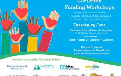 Carterton Funding Workshops