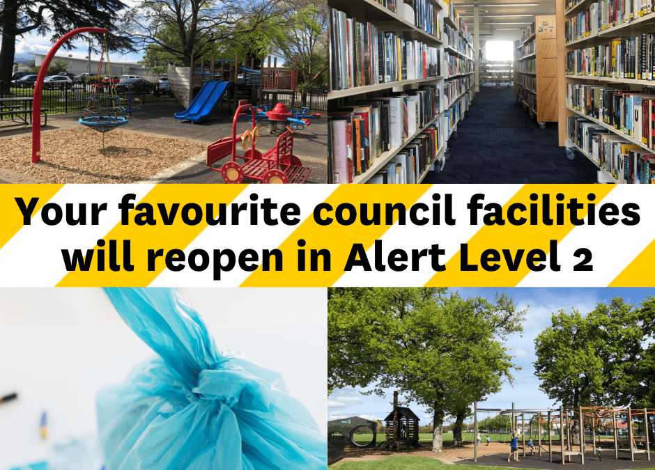 What to expect at our Council facilities under Alert Level 2