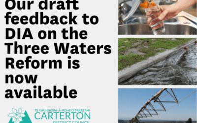 Carterton District Council responds to Three Waters Reform proposal
