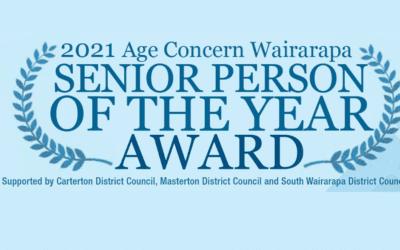 Age Concern Senior of the Year Award 2021